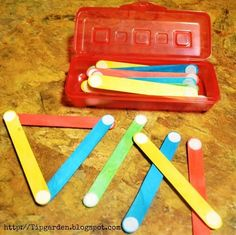 Busy Bag: Velcro Sticks