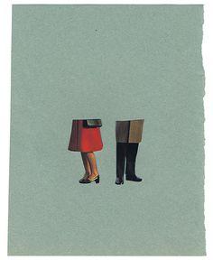 Beautiful/Decay Artist & Design - Anthony Zinonos' Miniature, Minimalist Collages