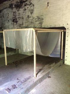 Frames dichtmaken objecten gaan in quarantaine