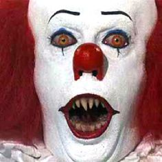 Pennywise the scary clown!