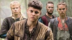 In the tales of Ragnar Lothbrok, he fathered many sons. Every son of Ragnar had their own stories. But the sons of Ragnar shared one thing in common which was the desire to revenge for their father's death. This resulted in the Great Heathen Army. Ragnar Lothbrok, Lagertha, Vikings Ragnar, Ragnar Sons, Vikings Show, Vikings Season, Vikings Tv Series, Viking Pictures, Viking People
