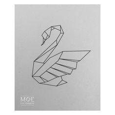 ... tattoo tattoo swan black swan tattoo swan design origami swan art