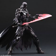 This is an actual action figure with a special light saber accessory. Star Wars Variant Play Arts Kai DARTH VADER by Square Enix. Release date: May 2015. Price: 12,000 yen