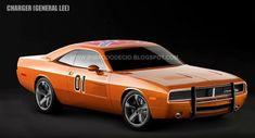 Dodge Charger General Lee Concept
