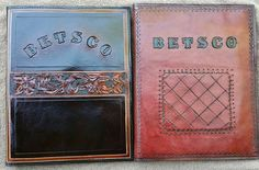 Personalized Custom Leather Portfolios / Padfolio for Notepad, Business Cards & More