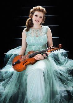 The 1774 Nicola Gagliano viola d'amore played by Rachel Barton Pine in her new Vivaldi concerto cd.