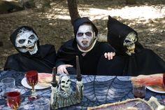 Seres de ultratumba que se apoderarán del parque durante la celebración de Halloween
