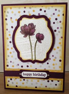 Bloom With Hope, Moonlight DSP Stack, Deco Labels Collection Framelits, 2014-2016 In Color Stitched Satin Ribbon (Blackberry Bliss), Word Window & Modern Label punches
