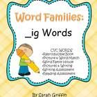 Word Families focus on CVC words to build early reading strategies, such as onsets and rhymes, decoding words and blending sounds. These activities...