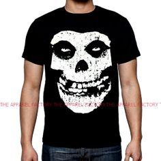 Men's Misfits Skull Face Black T Shirt All by Interstateblingbling, $9.99