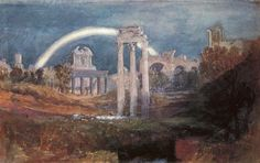 J.M.W.Turner, Rome The Forum With A Rainbow