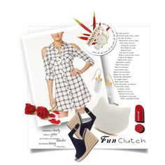A fashion look from August 2016 featuring Material Girl dresses, Prada sandals and Charlotte Russe watches. Browse and shop related looks.