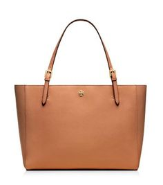 Tory Burch YORK BUCKLE TOTE in Tan. The perfect 9-5 tote.