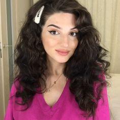 Ombré Hair, Curly Hair Tips, Hair Up Styles, Medium Hair Styles, Easy Curled Hairstyles, Hair Curling Tips, Hair Without Heat, Hair Styler, Grunge Hair