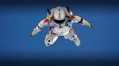 Felix Baumgartner fell to earth from the edge of space, breaking the sound barrier.