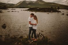 Engagement session in Glencoe on a beautiful sunny day by Mark Pacura, Scotland wedding photographer,, #scotland #engagement session