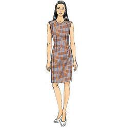 Mccall Pattern V9019 6-8-10-12--Vogue Pattern