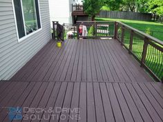 Cabot Brand Chestnut Brown Stain For Our New Deck You