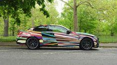 Jeff Koons Art, 2010 Bmw M3, M 4, Black Sapphire, Le Mans