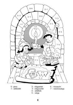 Színező 10-ig - kisferenc.qwqw.hu 1st Grade Math, Cool Kids, Family Guy, Snoopy, Seasons, Education, Fun, Advent, Fictional Characters