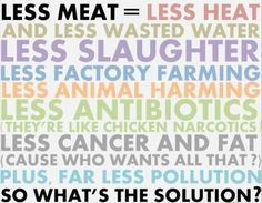 In case you needed some more reasons to reduce the meat on your plate.