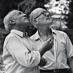 La Corbusier and Picasso