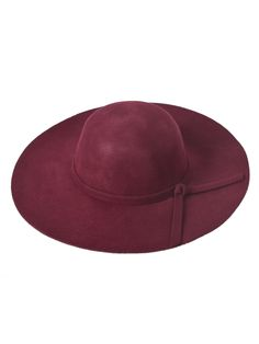 Wine colored Fedora