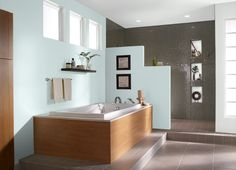 This is the project I created on Behr.com. I used these colors: HIMALAYAN MIST(500C-1)