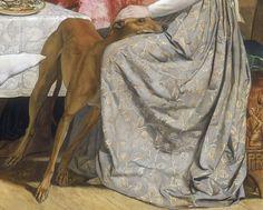 John Everett Millais,Isabella detail, 1849