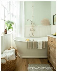 Small Bathroom Makeovers - My dream bathroom! Love Jenny Wolf Interiors.