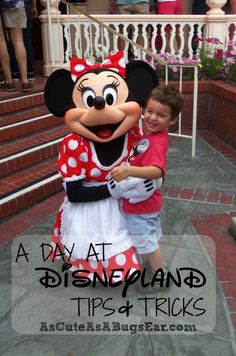 A DAY at Disneyland: Tips & Tricks | As Cute as a Bug's Ear|  Last year we DID Disneyland in a DAY with our baby and toddler.  Over 17 hours worth of fun without one single tantrum nor tear.  As we rode the tram home after the fireworks display late that night my husband and I HIGH-FIVED each other and chalked it all up to good old-fashioned planning.