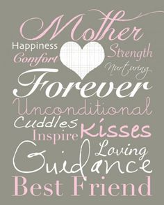 Last Minute Printable Gifts for Mother's Day