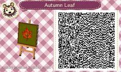 animal crossing new leaf qr code Autumn Leaf