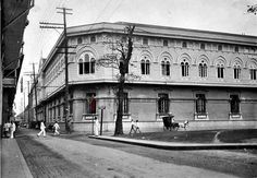 St Paul Hospital School of Nursing Intramuros Manila P.I 1900's  St. Paul's Hospital at the corner of Gral. Luna and Anda Streets, Intramuros, which had been begun by Sisters of St. Paul de Chartres and later on the Maryknoll Sisters had assumed direction.