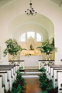 Breathtaking Church Wedding Decorations ❤ See more: http://www.weddingforward.com/church-wedding-decorations/ #weddingforward #bride #bridal #wedding