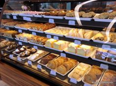 Starbucks Opens at Epcot's Fountain View Cafe Peanut Butter Brownies, Bakery Design, Disney Food, Dessert Recipes, Desserts, Food Presentation, Coffee Shop, Yummy Food, Treats