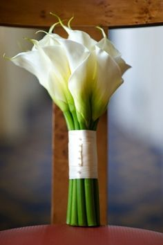 Beautiful White Calla Lily Bouquet
