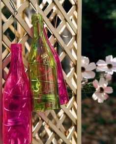 DIY Creative Ideas of How To Recycle Old Bottles (75)