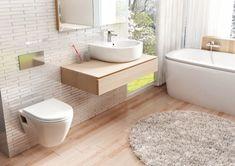 Moderní koupelna. Inspirace pro váš domov. Bad Inspiration, Bathroom Inspiration, Decoration, Keep It Cleaner, Bath Mat, Bathtub, Bathroom Sinks, Toilet, Vanity