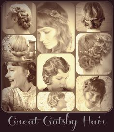 Gatsby hair