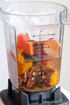 Pumpkin Pie Smoothie In Vitamix