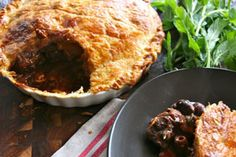Spicy harissa beef pie