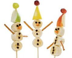We did these in John's 1st grade class Winter Party this year and they were a hit!