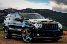 Custom Jeep srt8, Carbon fiber all around, lowered, custom rims, borla, and much more;)