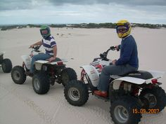 By far the most exciting thing on 4 wheels, Quad Biking Cape Town on the sand dunes is a rush like no other. Quad Bike, Adventure Tours, Cape Town, Dune, Biking, Monster Trucks, Quad, Cycling, Adventure Travel