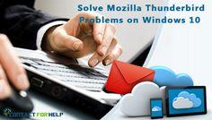 Find Easy 6 Methods to Solve Mozilla Thunderbird Problems on Windows 10
