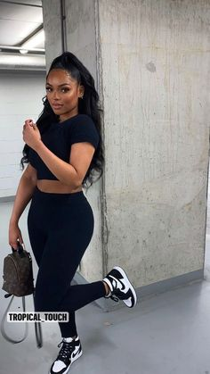 Baddie Outfits Casual, Cute Swag Outfits, Chill Outfits, Dope Outfits, Classy Outfits, Stylish Outfits, Summer Outfits, Fashion Outfits, Outfits For Black Girls