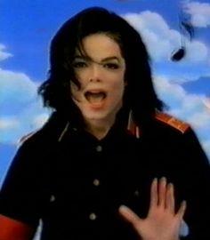 <3 Michael Jackson <3 - on the set of Eddie Murphy's video Whatzupwitu