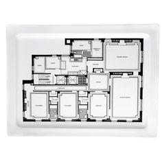 Floor Plan Platter, $36.95, now featured on Fab.
