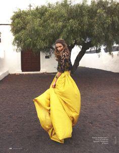 andreea diaconu by asa tallgard for elle russia june 2012 | visual optimism; fashion editorials, shows, campaigns & more!